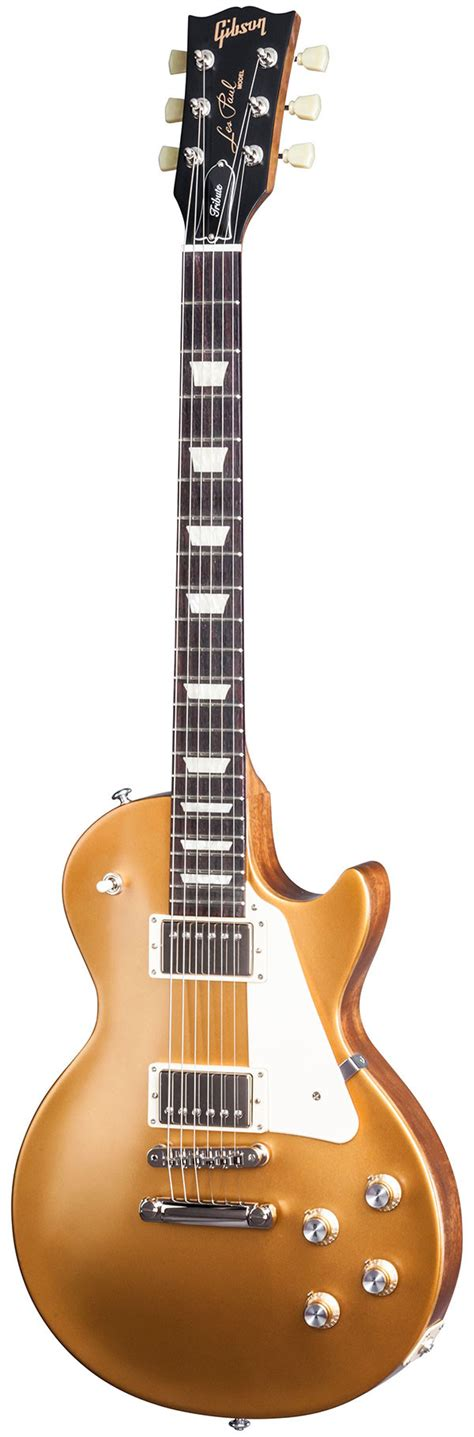 Gibson 2017 Les Paul Tribute T Satin Gold Top - Kenny's Music