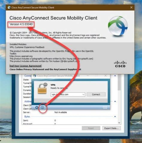 Cisco AnyConnect Secure Mobility Client 4