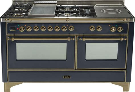 Ilve UM150SMPMY 60 Inch Traditional-Style Dual Fuel Range