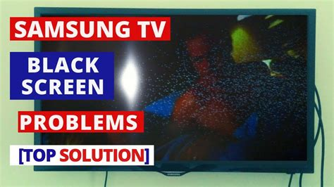 How to Fix SAMSUNG TV Black Screen Problems || How to Fix