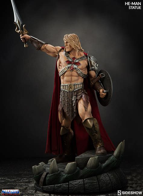 MASTERS OF THE UNIVERSE - He-Man Statue (Sideshow