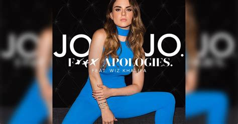 JoJo isn't going to say sorry for her new song (or