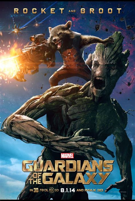 New Marvel's GUARDIANS OF THE GALAXY Posters - Out With