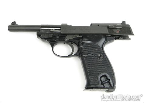 Deactivated Walther P1 Pistol