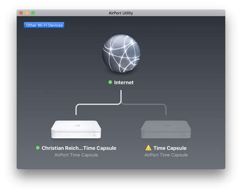 airport - Re-enable Wi-Fi on a Time Capsule - Ask Different