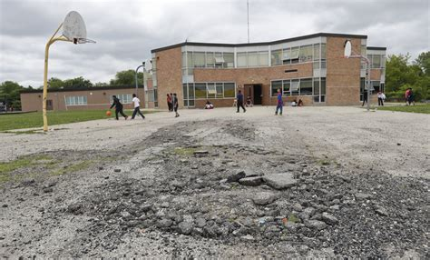 To see divide between rich schools and poor, look to