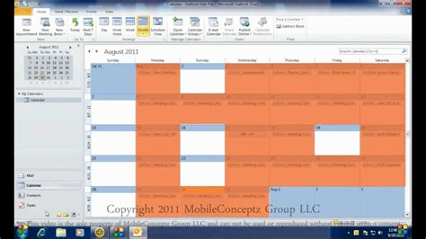 Syncing Microsoft Outlook Calendar with Android - YouTube