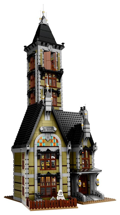 Official Announcement LEGO Haunted House (10273)!   The