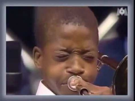 Trombone Shorty At Age 13 - 2nd Line - YouTube