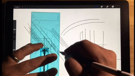 Procreate App - Architectural Drawing Tips (Quick Menu