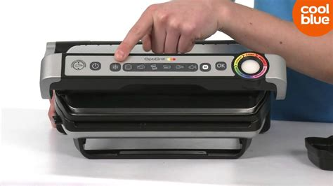 Tefal Optigrill GC702D Contactgrill Productvideo (NL/BE