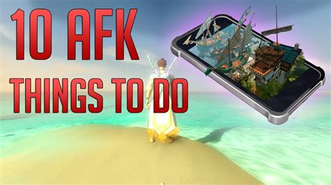 Runescape 3 - 10 AFK Things to do on RS3 Mobile