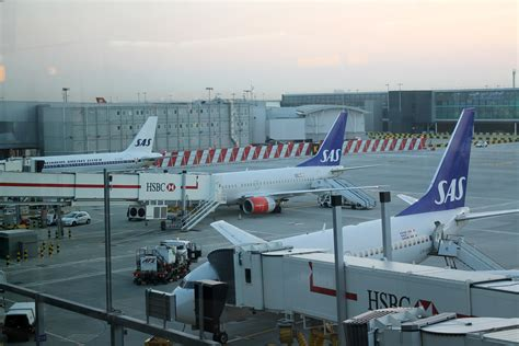SAS have moved into Terminal 2, Star Alliance's new home